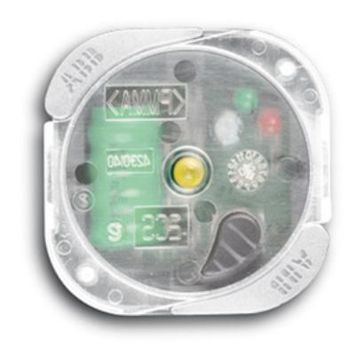 lampada abb chiara 2csk1214ch anti black out estraibile 230v