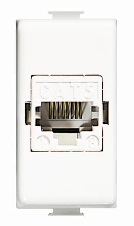 connettore modulare rj45 categoria 5e utp bticino matix  AM5974AT5