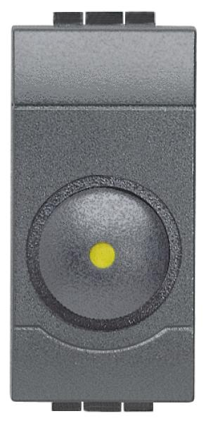 Dimmer per carichi resistivi bticino living international l4406 500w 1 modulo