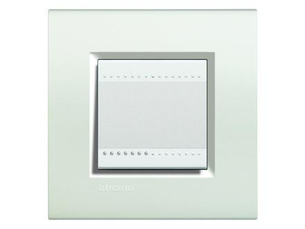 Placca bticino living international lna4802bi 2 posti bianco