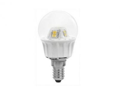 Lampada led beghelli 56071 4w e14 sfera 4000k beg56071 for Lampada led e14