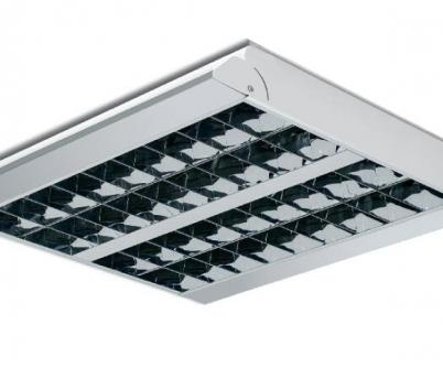 Plafoniera beghelli 13040 dark light 4x18w a incasso
