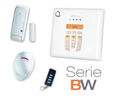 Kit antifurto bentel bw30-k wireless con centrale bw30