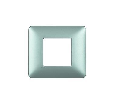 Placca 2 posti bTicino serie MATIX AM4802GOS oro satinato