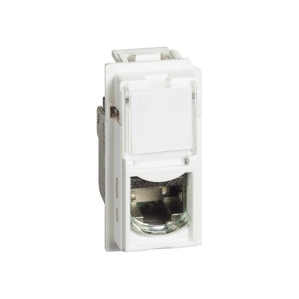 Presa dati RJ45 toolless utp categoria 6 Living Now Bianca Bticino KW4279C6