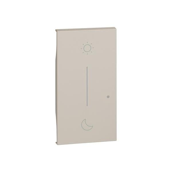 Cover simbolo notte&giorno wireless Living Now sabbia Bticino KM41M2