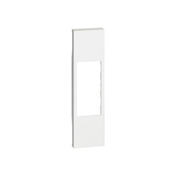 Cover per connettori rj11/45 A/V Living Now bianco Bticino KW07
