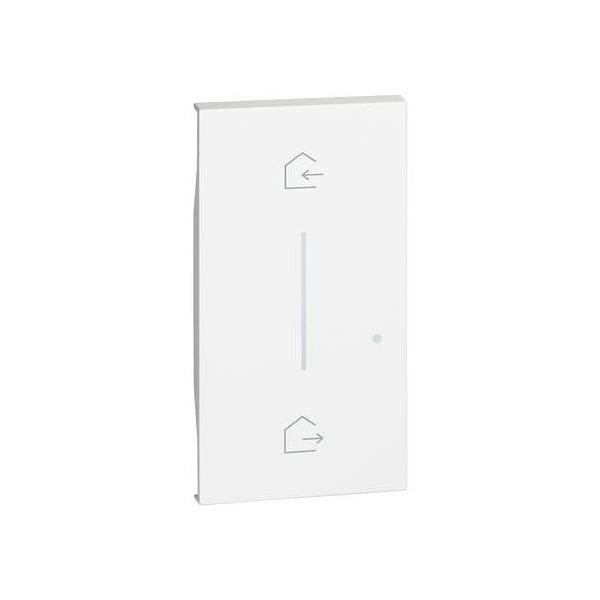 Cover simbolo entra & esci wireless Living Now Bianco Bticino KW40M2