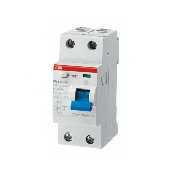 Interruttore Abb FH20225 differenziale puro 2p 30ma ac