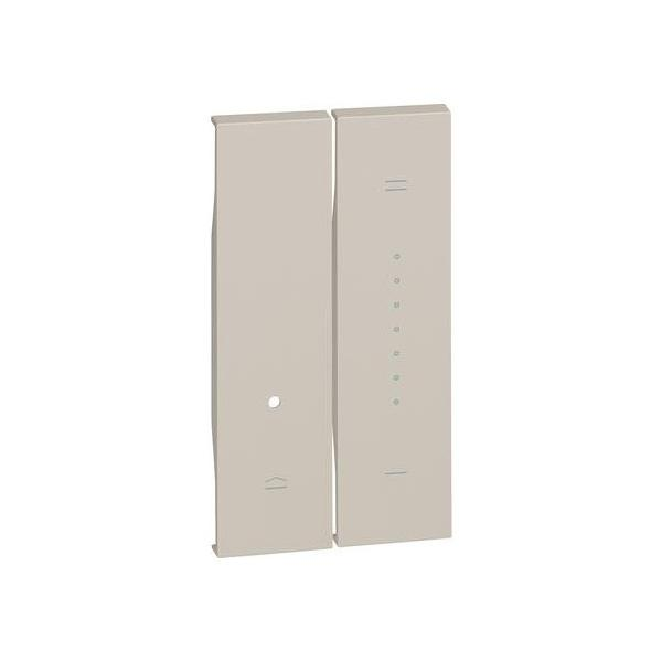 Cover per dimmer Living Now sabbia Bticino KM19