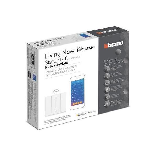 Kit starter domotica Living Now Bticino K3000KIT [BTIK3000KIT]